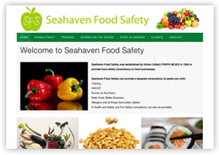 SeaHaven Food Safety food hygiene training and courses