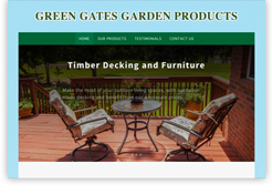 Screenshot for Green Gates Garden Products