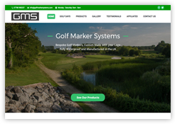 Screenshot for Golf Marker Systems (GMS)