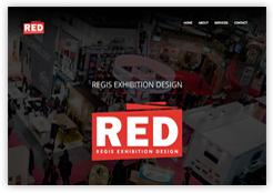 Screenshot Regis Exhibition Design
