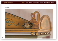 Website of John R Hunt Artist