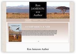 Ron Jameson Author