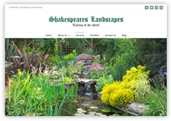 Website of Shakespeare's Landscapes