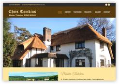 Website of Chris Tomkins Master Thatcher