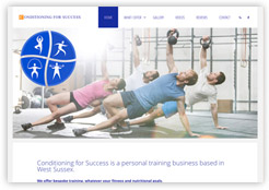 Conditioning for Success website