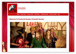 Penshurst Amateur Dramatics Society Website