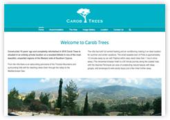 Carob Trees holiday villa in Cyprus