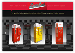 Website and link to Retrocool Refrigeration