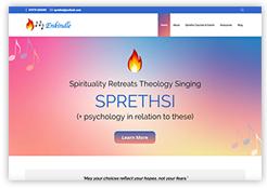 New website for SPRETHSI spirituality retreats theology singing