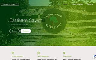 NEW Eartham Sawmill